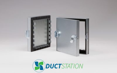 DuctStation launch range of Insulated Tabbed Access Doors for Rectangular Duct